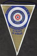 Shooting / Flag, Pennant / Czechoslovakia Shooting Federation / European Championship, Plzen 1969 - Otros