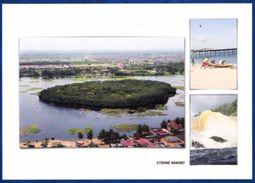 Cote D'Ivoire, Mangrove, Piroguier, Chute De Nawa - Costa D'Avorio