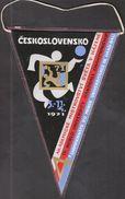 Handball, Hazena / Flag, Pennant / Czechoslovakia / University World Championship - Handball