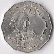 Australia 1970 50c Cook Commemorative [C589/2D] - Decimal Coinage (1966-...)