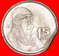 √ ERROR: MEXICO ★ 1 PESO 1985 CLIPPED PLANCHET! LOW START ★ NO RESERVE! - Federal Issues