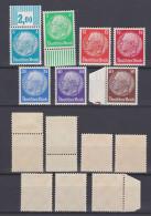 GERMAN REICH 1932 Hindenburg Mint * 391-397 (Mi.467-473) - Germania