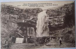 CPA Circa 1920 - Vallée Du Herisson - Vue De La Cascade Du Saut Girard  - TBE Lons Le Saunier Dole Champagnole - Autres Communes
