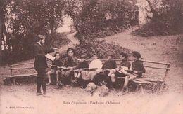 France, Ecole D'Aquitaine, Leçon D'Allemand (921) Rouille Et Pli D'angle - Ecoles
