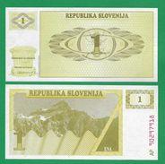 = SLOVENIA - 1 TOLARJEV - 1990 - UNC  = - Slovenia