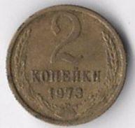 USSR 1973 2 Kopeks [C597/2D] - Rusland
