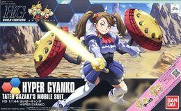 Gundam : Hyper Gyanko 1/144 ( Bandai ) - SF & Robots