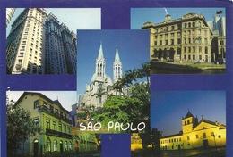 "CPM. MULTIVUES "" SAO PAULO "" ECRITE AU VERSO - São Paulo"