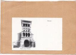 VIENNE - 38 - CPA DOS SIMPLE - Eglise Saint Pierre - Edit B F Paris  - LYO1 - - Vienne