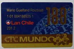CHILE - CTC Mundo - 188 - Pass - Lan Chile - Chili