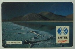 CHILE - Early Entel Ticket - $3000 - Used - Chile