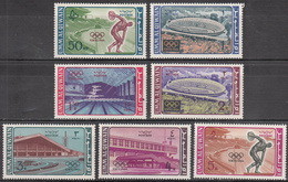 UMM AL QIWAIN    SCOTT NO. 19-25      MINT HINGED     YEAR 1964    PERF. - Autres - Asie