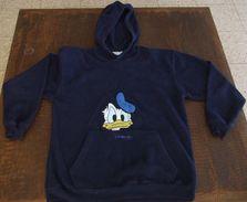 LOT Of DISNEYLAND PARIS DONALD DUCK WARM HOODY & MICKEY MOUSE HAT, Size 14/15 (Eur) - Disney