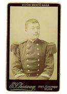 PHOTOGRAPHIE CDV MILITAIRE DU 27eme PHOTO E. CHESNAY DIJON - Guerre, Militaire