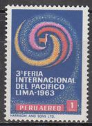 PERU    SCOTT NO. C194     MINT HINGED     YEAR 1965 - Peru
