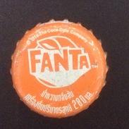 Thailand Coca Cola FANTA Used Bottle Crown Cap / Kronkorken / Capsule / Chapa / Tappi - Caps