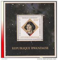 Rwanda BL 033**  Copernic  MNH - Rwanda