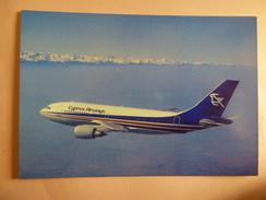 AIRLINE ISSUE / CARTE COMPAGNIE     CYPRUS AIRWAYS   A 310 203 - 1946-....: Modern Era