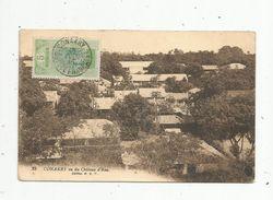 Cp, GUINEE FRANCAISE , CONAKRY , Vu Du Château D'eau , Voir Timbre Et Oblitération - Guinée