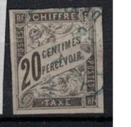 EMISSIONS GENERALES        N°  YVERT    TAXE   8      OBLITERE       ( O   4225 ) - Portomarken