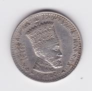50 Matonas 1923 TTB/SUP - Ethiopia