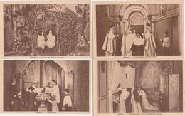 17 / 10  / 347  -    LOT  DE  9  CPA  DE  LA  VIE  DE  SAINTE  THÉRÈSE  DE  L'ENFANT  JÉSUS -  Toutes Scanées - Heiligen
