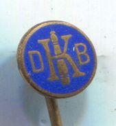 BOWLING / KEGELN - DKB, Bowlingbund Germany, Vintage Pin, Badge, Abzeichen, Enamel - Bowling