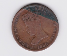 6 Centimes 1/4 1850 Faustin 1er Haiti  TB - Haïti