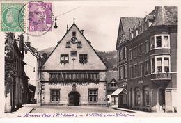 Cp , 68 , MUNSTER , L'Hôtel De Ville - Munster