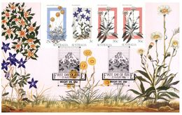 (625) Australia - Early Edition Maxicard - Native Flowers 1986 - Cartoline Maximum