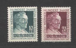 Württemberg,47/48,xx (5290) - Französische Zone