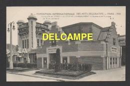 DD / 75 PARIS / EXPOSITION INTERNATIONALE DES ARTS DÉCORATIFS / PAVILLON DES TISSUS ET DES ETOFFES D' AMEUBLEMENT - Exhibitions