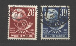 Württemberg,51/52,o,gep (5290) - Französische Zone