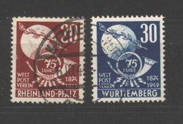 Württemberg,51/52,o (5290) - Französische Zone