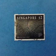 1994 SINGAPORE FRANCOBOLLO USATO STAMP USED - CORALLO MUSHROOM CORAL 2 - Singapore (1959-...)