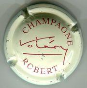 CAPSULE-CHAMPAGNE ROBERT N°05 Crème Pâle & Bordeaux - Champagne