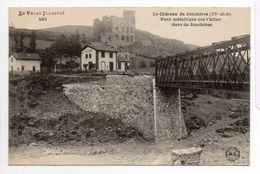- FRANCE (43) - CPA Vierge Le Château De Jonchères - Pont Métallique Sur L'Allier - Gare De Jonchères - - France