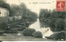 N°58629 -cpa Arçais -les Bords De La Sèvre- - Other Municipalities