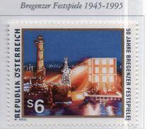 PIA  -  AUTRICHE -  1995  : Cinquantenario Del Festival Di Bregenz -  (Yv   1989) - 1945-.... 2de Republiek