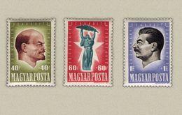 Hungary 1947. Stalin And Lenin Nice Set MNH (**) Michel: 994-996 / 12 EUR - Ungarn