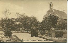 Reading - The Fountain, Forbury Gardens (001404) - Reading
