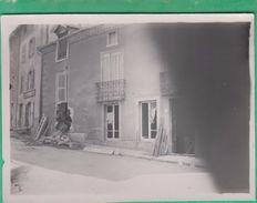15 - Massiac - Photo - Destruction D'une Maison, Magasin F. Ferran ? (Cantal) (tremblement De Terre, Guerre ?) - Lieux