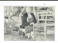 CPM 71 Varenne St Sauveur Mme BRESSOUX Rempaillant Une Chaise 1991 Neuve TBE  Chmelewski - Altri Comuni