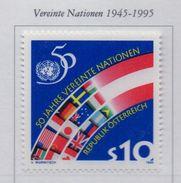 PIA  -  AUTRICHE -  1995  : Cinquantenario Dell' ONU -  (Yv   1991) - 1945-.... 2ª República