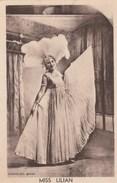 CPA MISS LILIAN REINES DES FORAINS 1937 - Entertainers