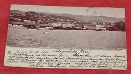 Trieste :::: Tampon 1900 ::: Animation - Bateaux - Voiliers ------------ 438 - Trieste