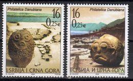Yugoslavia,Philatelica Danubiana 2003.,MNH - 1992-2003 Sozialistische Republik Jugoslawien