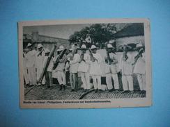 MISSION VAN SCHEUT  -  Missiën Van Scheut  -  Fanfare  -  Fanfarekops Met Bamboeinstrumenten  -  PHILIPPINES - Philippines