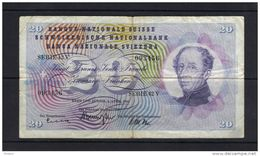 SUISSE WPM N° 175d 20fr, 02.04.1964. (BB10) - Suisse