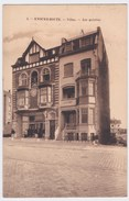 Knocke-Zoute Cpa  Villas  Les Galeries Anno 1921 - Knokke